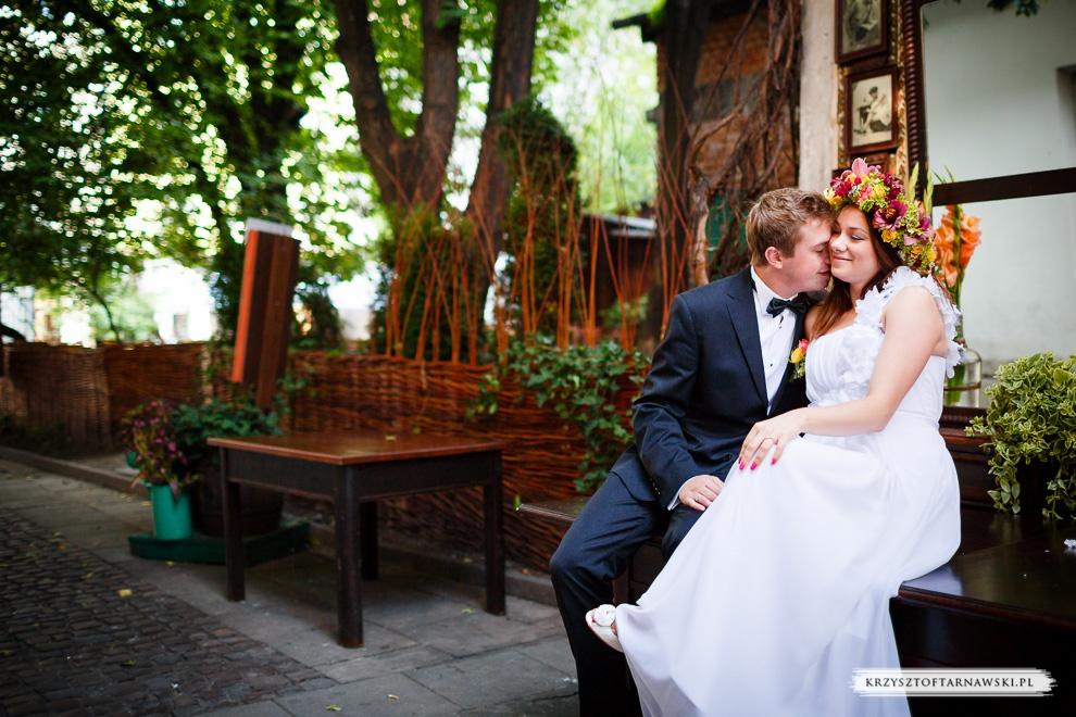 fotografia ślubna Kraków, zdjęcia ślubne w plenerze