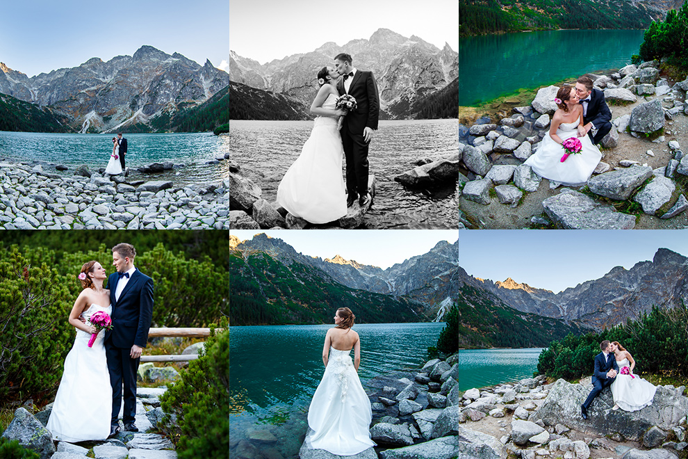 Plener ślubny - Tatry Morskie Oko